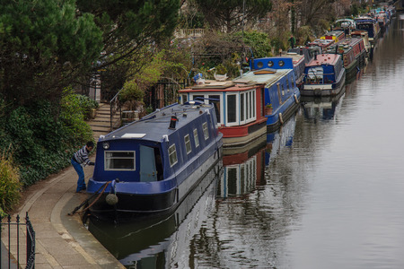 meeting place: Little Venice, London UK  It is the meeting place of the Grand Union Canal and the Regents Canal