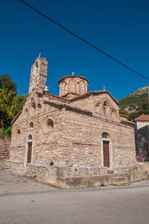 mani: A church in Mani Peninsula, Peloponnese, Greece