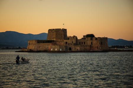 nafplio: View in Nafplio, Peloponnese, Greece