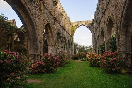 Abbaye de Beauport, Paimpol, Cotes-d photo
