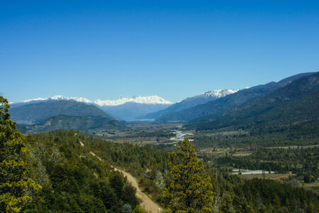 bariloche: Scenic View in Patagonia, near Bariloche, Argentina
