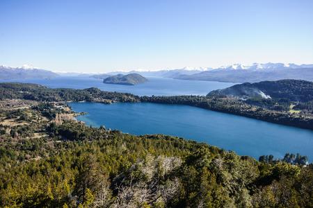 mountainscape: Scenic View in Patagonia, near Bariloche, Argentina