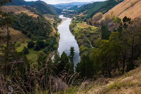 Whanganui River, North Island, New Zealand photo