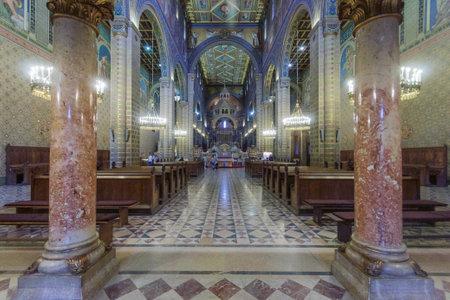pecs: St Peter and St Paul Baisilica, Pecs, Hungary Editorial
