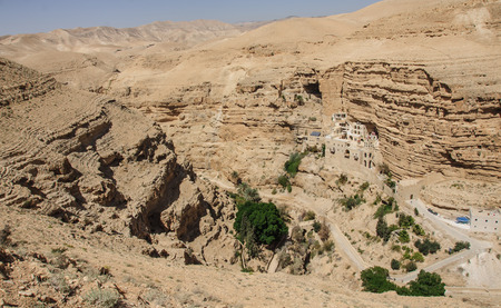 judaean: Saint George Monastery, Wadi Qelt, Judean Desert, Israel   West Bank