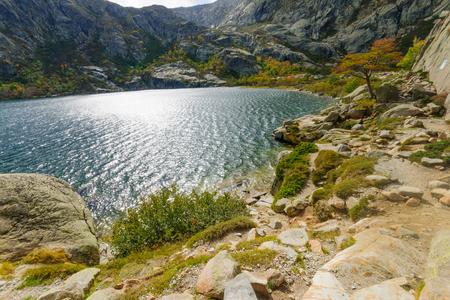 The Melo Lake (Lac de Melo), in Corsica, France photo