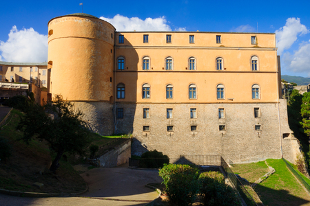 citadel: The Governors Palace in the citadel, Bastia, Corsica, France