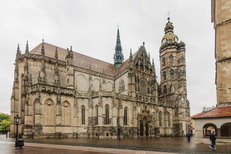 dom: Le Dom gothique � Kosice, en Slovaquie