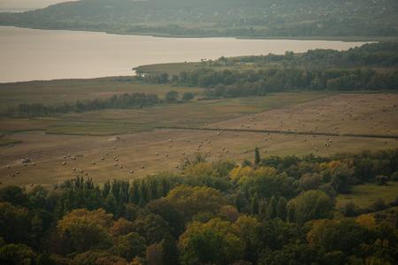 balaton: View of Lake Balaton from Szigliget