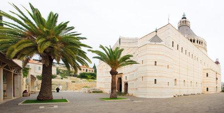 annunciation of mary: NAZARETH, ISRAEL - December 19, 2014: The Church of Annunciation, in Nazareth, Israel