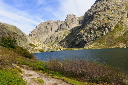 The Melo Lake (Lac de Melo), in Corsica, France