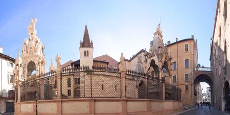 tumbas: Las Tumbas de Scaliger en Verona, V�neto, Italia
