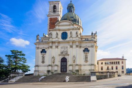 veneto: The Church of St. Mary of Mount Berico, in Vicenza, Veneto, Italy Stock Photo