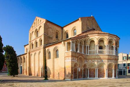 Murano: The Church of Santa Maria e San Donato in Murano, Venice, Veneto, Italy