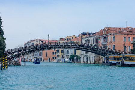 academia: The Academia Bridge, in Venice, Veneto, Italy