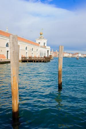 veneto: Punta della Dogana, in Venice, Veneto, Italy Stock Photo