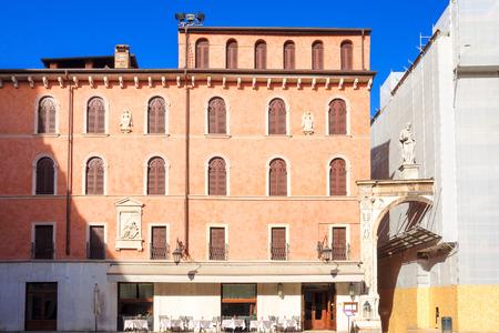 dei: The Piazza dei Signori, in Verona, Veneto, Italy