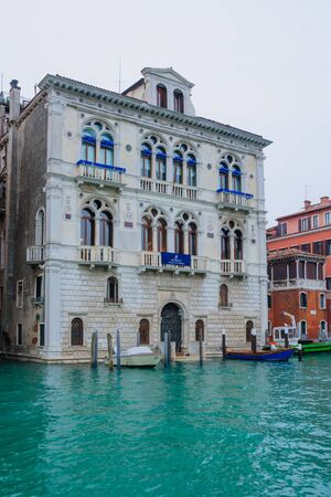 veneto: Corner Spinelli Palace, Venice, Veneto, Italy Stock Photo