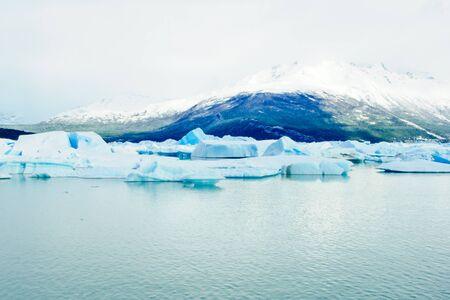 lago: Iceberg in Lago Argentina Near Calafate Argentina