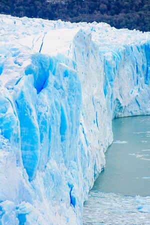 santa cruz: Perito Moreno Glacier Lago Argentino the Patagonian province of Santa Cruz Argentina Stock Photo