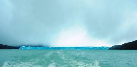 moreno: Perito Moreno Glacier Lago Argentino the Patagonian province of Santa Cruz Argentina Stock Photo
