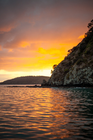 coastal: Sunset in the Bay of Islands Northland North Island New Zealand