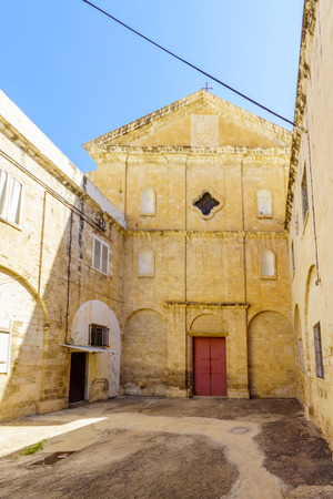 The monastery of the Discalced barefoot Carmelites in Paris square, downtown Haifa, Israel