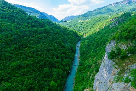 hill of tara: The Tara River and Canyon, northern Montenegro