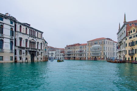 grand canal: The Grand Canal, in Venice, Veneto, Italy Editorial