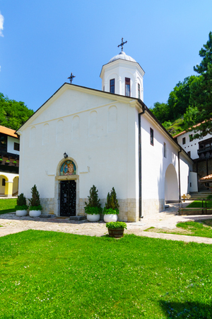 holy trinity: Holy Trinity Monastery, a medieval Serbian Orthodox monastery complex (lavra) in Pljevlja, Montenegro
