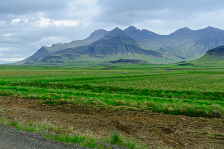 secluded: Landscape and countryside in the Snaefellsnes peninsula, west Iceland