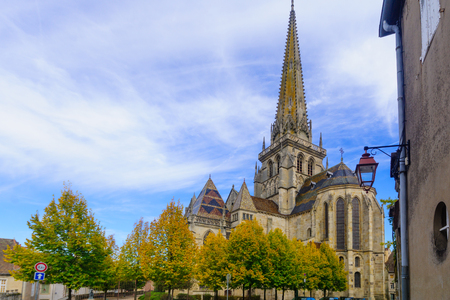 The Saint-Lazare Cathedral, in Autun, Burgundy, France