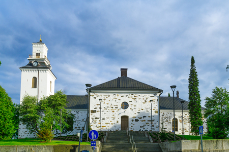 lutheran: View of the Lutheran Cathedral, in Kuopio, Finland