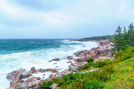 Landscape (near Lakies Head), in Cape Breton Highlands National Park, Nova Scotia, Canada