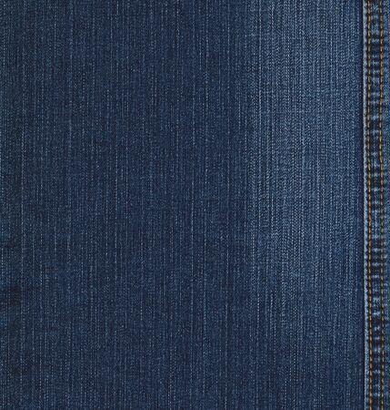 jeansstoff: Real Blue Jeans Denim Textur, Hintergrund mit Stich