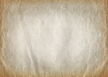 Sheet of aged paper with vintage texture background