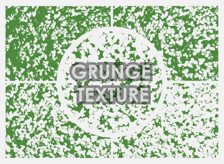 set of three and four leaf clover grunge textures with different number of spots on transparent background. Texture of old poster background. Vector