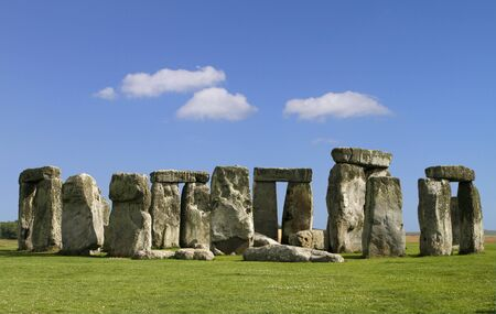 Stonehenge in England photo