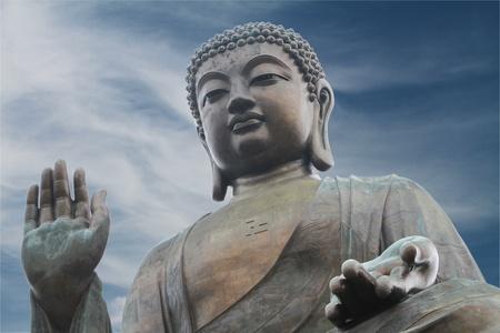 big buddha: The Big Buddha in Hong Kong