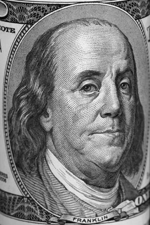 franklin: Benjamin Franklin on a US banknote