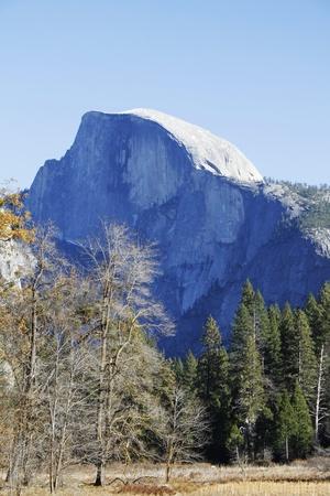half dome: Yosemite Half Dome