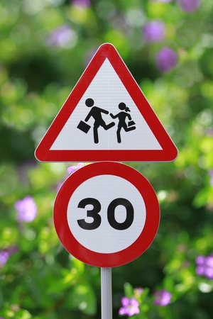 Road Sign - Children Crossing photo
