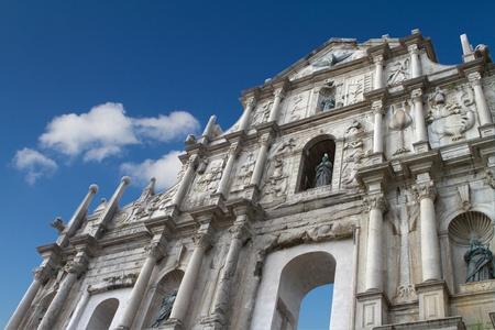 The Ruins of St  Paul s in Macau