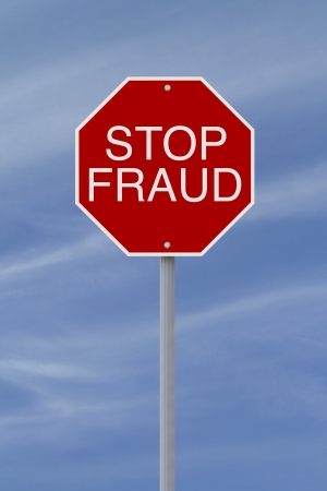 deceit: A modified stop sign on Fraud