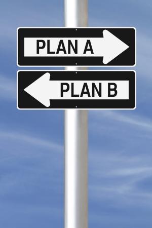 toma de decisiones: Modificación de una manera signos sobre las opciones de planificación