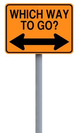 toma de decision: Una se�al de tr�fico modificado en la toma de decisiones