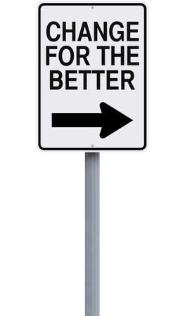 better: Conceptual road signs on change or improvement