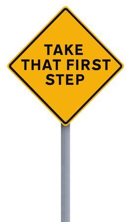 first step: Ge�ndert Schild, nehmen, wo man hintritt