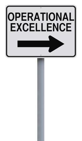 変更された一方通行標識オペレーショナル ・ エクセレンス