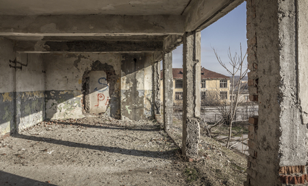 barracks: Old barracks